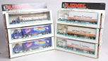 Lionel O Assorted Tractor And Trailers; 6-12807, 6-12807, 6-12807, 6-12739, 6-12