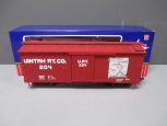 USA Trains 19027 G Scale Uintah Wood Boxcar #204/Box