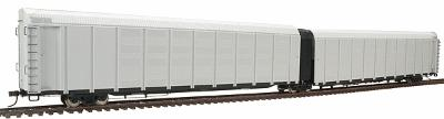 Atlas 6330  HO Undecorated  Articulated Auto Carrier NIB  Atlas 6330