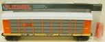 Lionel 6-16214 Rio Grande Auto Carrier w/Screens NIB