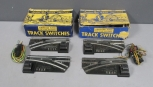 American Flyer 720A S Gauge Electric Remote Control Switches (Pair) (2)/Box