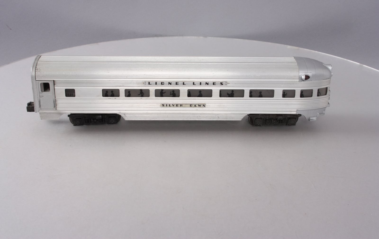 Buy Lionel 2531 Lionel Lines Silver Dawn Aluminum Observation Car