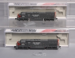 InterMountain N Scale Southern Pacific EMD SD45T-2 Diesel Locomotives: 69502-09,