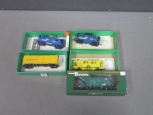 Bowser HO Scale Freight Cars: 54003, 55645, 56314, 55503, 40740 [5]/Box