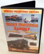 Pentrex DVD Great Northern Railway Vol 1,2,& 3 Combo Steam Diesel Electric train