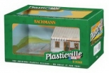 Bachmann 45316 O Plasticville Built-Up House Under Construction Building LN/Box
