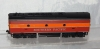 Athearn HO Scale F7B Southern Pacific Daylight B UNIT scale couplers dummy 6322