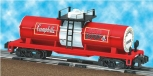 American Flyer 6-48416 Campbell's Soup Tank Car Tomato single dome S gauge OOP