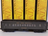MTH 30-6210-11-12-13 New York Central O27 Madison 4  Car Set