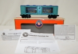 Boxed Lionel Trains 6-26745 Traveling Aquarium car $504 2001 O Gauge animated