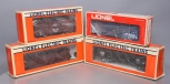 Lionel O Scale Assorted Freight Cars; 6-6209, 6-9771, 6-6521, 6-6920 [4]/Box