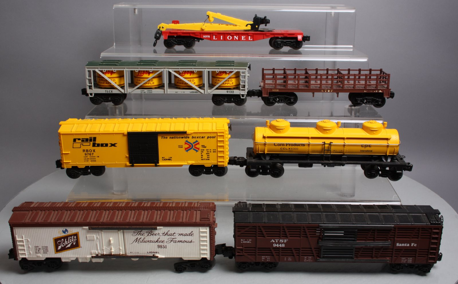 Buy Lionel Modern & MPC Freight Cars (7) | Trainz Auctions
