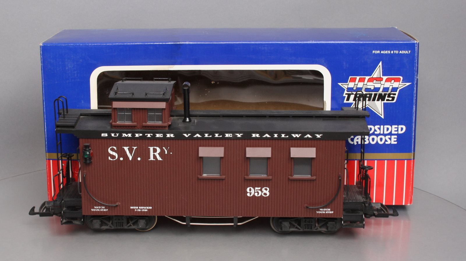 Buy USA Trains R12021 Sumpter Valley Caboose #958 - Metal