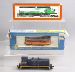 AHM, Tyco & Athearn HO Scale Diesel Locomotives and Trolley [3]
