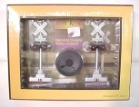 MTH 30-11014 Operating Crossing Flashers w/Sound LN/Box