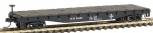 Atlas 38171 N Scale Boston & Maine 50' Flatcar w/Stakes #34020 NIB