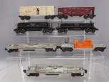 Lionel O Scale Assorted Postwar Freight Cars; 3472, 6520, 3361-55, 3361-55, 3469