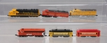 Minitrix, Rapido & Other N Scale Assorted Diesel Engines & Trolley Cars [6]