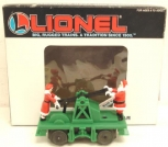 Lionel 6-18403 Operating Green Santa Hand Car NEW