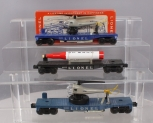 Lionel O Postwar Military Freight Cars: 3419, 6175, 3419 [3]