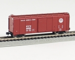 Fox Valley Models 90347 N Baltimore & Ohio Wagontop Flat Door #380506 NIB