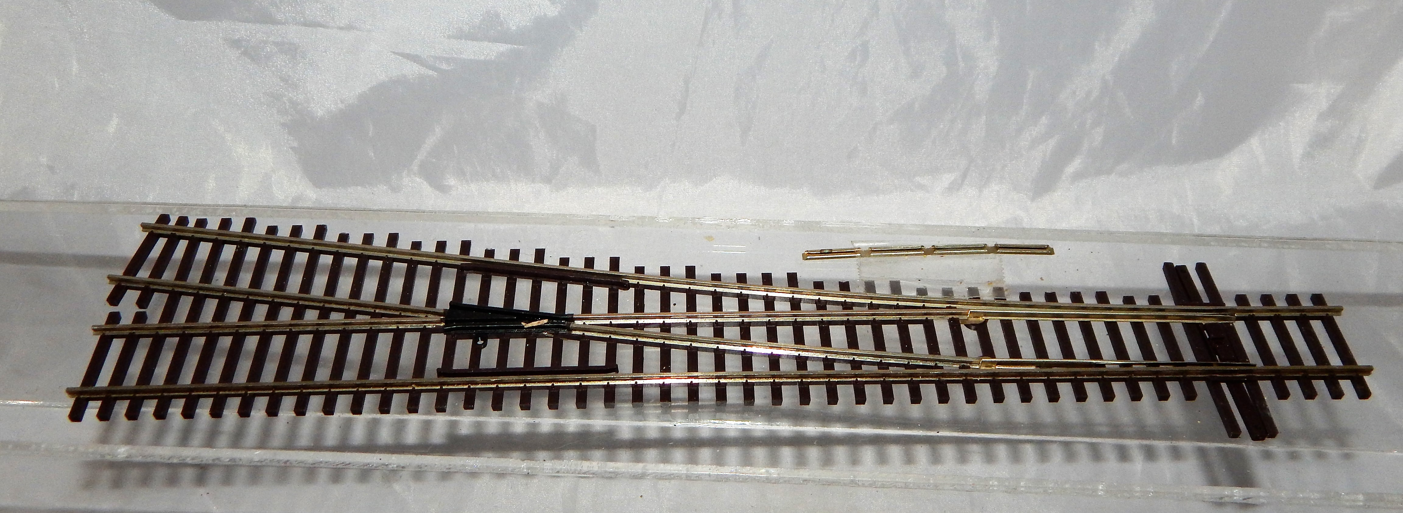Atlas 564 Code 83 #6 Turnout Right Hand Model Railroad switch track HO brownTies