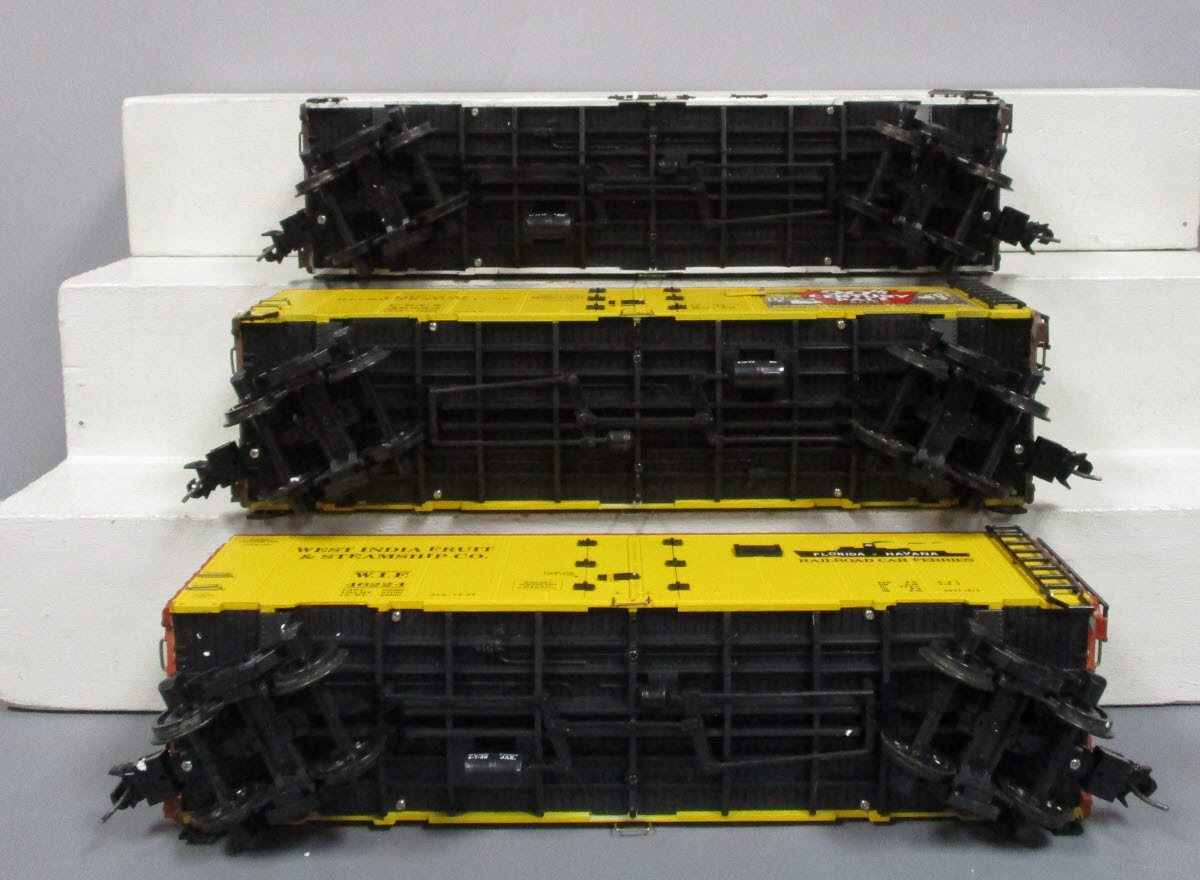 Buy Aristo-Craft G Scale Reefer Cars: West India Fruit, Century Beer