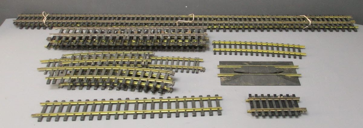 Aristo-Craft G Scale Brass Straight & Curved Track Sections [15]  Aristo-Craft