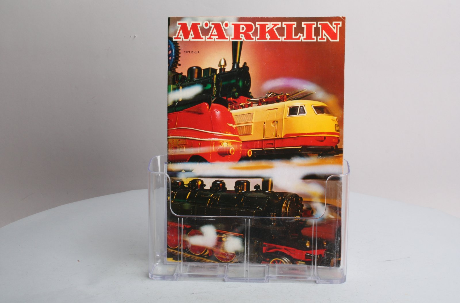 Buy Marklin 1971 Product Catalog | Trainz Auctions