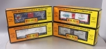 MTH Box and Reefer Cars 30-74488, 30-78051, 30-78041 & 30-7451 [4] EX/Box