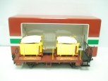 LGB 42140 Christmas Transport Car w/Gold Boxes LN/Box
