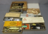 S Gauge Assorted Brass Partial Locomotives, Motors, Parts, Etc [15+]