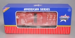 USA Trains R1445B G Jersey Central Outsided Braced Box Cars (Red) #66893 (Plasti