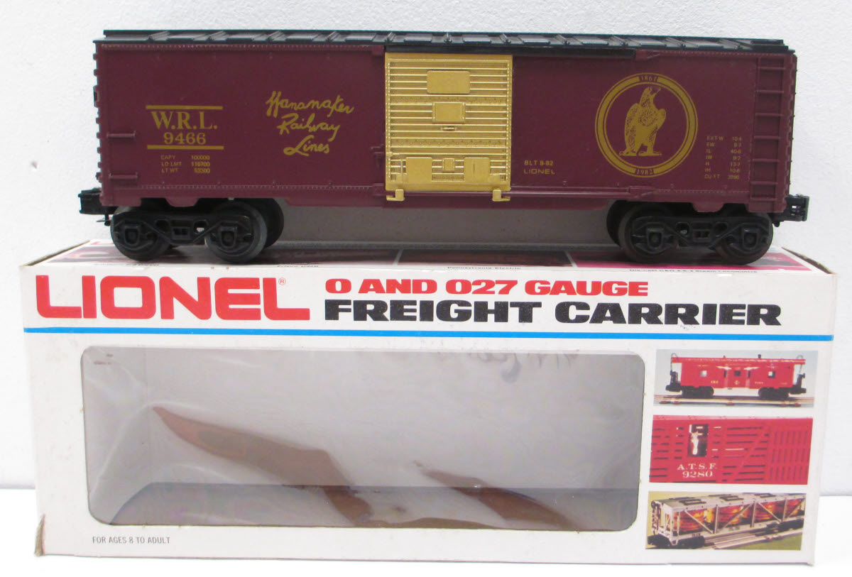 Image result for lionel wannamaker boxcar