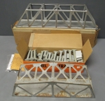 Lionel & Marx O Postwar: 110 Trestle Set, 316 Trestle Bridge, 1320 Wabash Truss