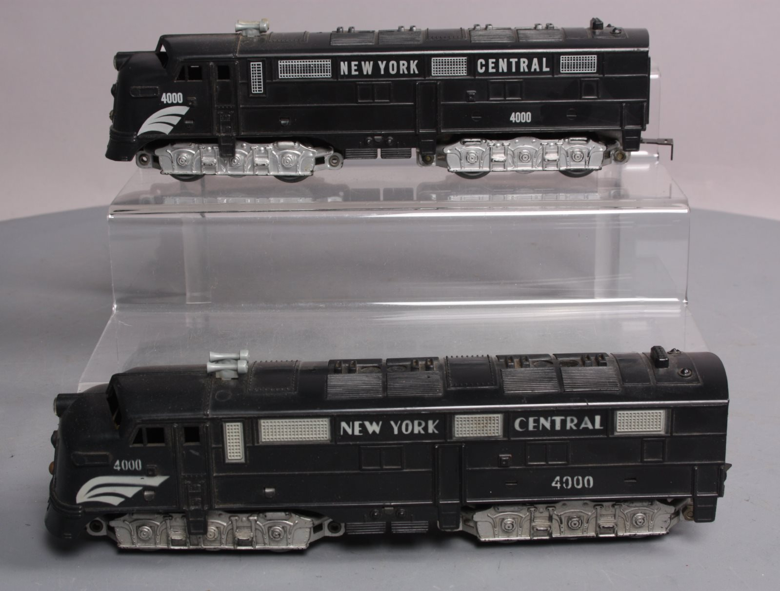 Marx 4000 New York Central AA Diesel Locomotive Set  Marx 4000
