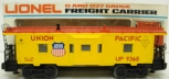 Lionel 6-9368 Union Pacific Bay Window Lighted Caboose/Box