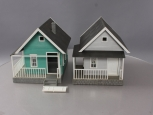 Piko G Farmhouse Assembled Buildings: 62226 and 62249 [2]