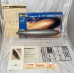 Revell #0482 Hindenberg Plastic Model Kit 1:720 LZ129 Luftshiff blimp dirigible