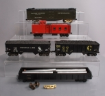 Custom Built Assorted O Scale Freight Cars [5] (2-Rail)