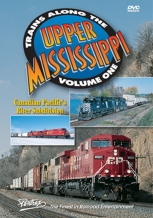 Trains Along the Upper Mississippi Vol. 1 Canadian Pacific Pentrex Train DVD CP