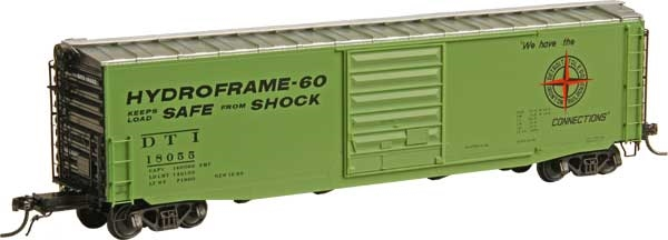 Kadee 6361 HO Detroit, Toledo & Ironton 50' PS 1 Boxcar with 9' Door #18055 NIB 765484063612 Kadee 6361