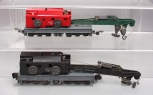 American Flyer S Gauge 644 & 944 Industrial Brownhoist Crane Cars (2)