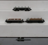 American Flyer S Scale 914 Log Dump Operating Cars [3]