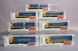 AMW Automoddelle 1:87 Scale Danzas Trucks [7] LN/Box