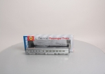 Walthers 932-9723 HO Scale Santa Fe Super Chief P-S 36-Seat Diner Car - Plated