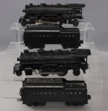 Lionel O Scale Assorted Locomotives & Tenders; 246, 1655 & 2671WX [6]