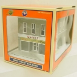 Lionel 6-34126 Built-up Market Building NIB