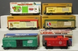 Lionel O Scale Assorted Freight Cars: 6-9432, 6-9429, 6-9433, 6-9669 [6]