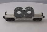 Lionel 6561 Depressed Center Flat w/Gray Cable Reels